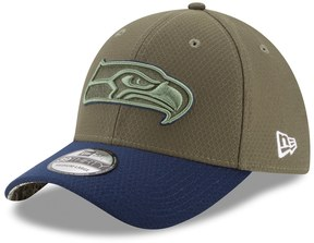 New Era Adult Seattle Seahawks 39THIRTY Salute to Service Flex-Fit Cap