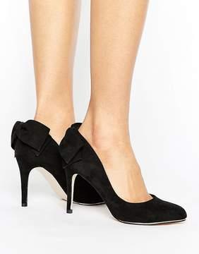 Miss KG Coral Bow Trim Court Shoe