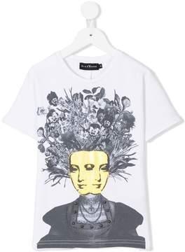 John Richmond Kids face print T-shirt