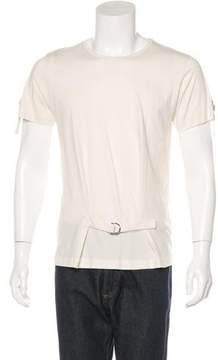 J.W.Anderson Strap-Trimmed Woven T-Shirt