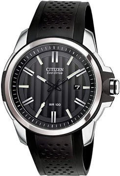 JCPenney DRIVE FROM CITIZEN ECO-DRIVE Drive from Citizen Eco-Drive Black Strap Watch AW1150-07E