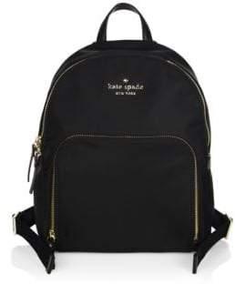 Kate Spade Hartley Nylon Backpack - DEEP PLUM - STYLE