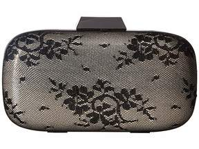 Jessica McClintock Emme Sparkle Lace Minaudiere Clutch Handbags