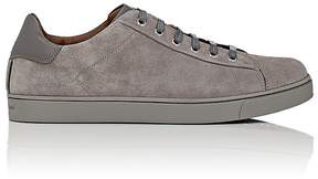 Gianvito Rossi Men's Suede Low-Top Sneakers