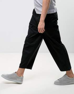 Dr. Denim Melvin Wide Fit Chino In Black