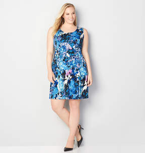 Avenue Floral Watercolor Sheath Dress