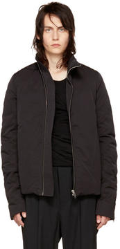 Rick Owens Black Mollino Down Jacket
