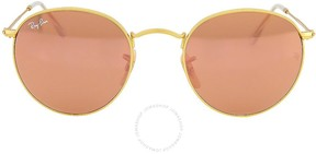 Ray-Ban Round Copper Flash Sunglasses