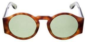 Givenchy Tortoiseshell Round Sunglasses