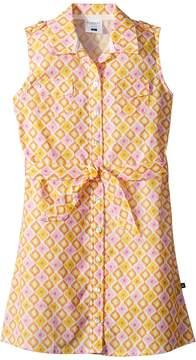 Toobydoo Sunshine Belted Shirtdress Girl's Dress