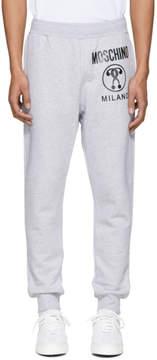 Moschino Grey Logo Lounge Pants