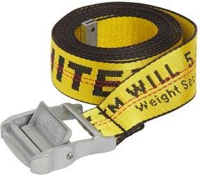 Off-White 35mm Long Nylon Industrial Belt