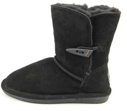 BearPaw Abigail Youth Youth Round Toe Suede Winter Boot.