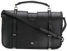 Saint Laurent whip stitch Charlotte messenger bag - BLACK - STYLE