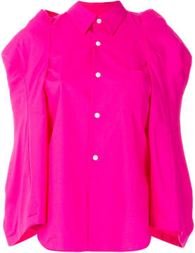 Comme des Garcons structured sleeve shirt