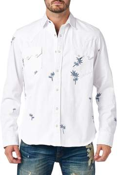 Cult of Individuality Men's Clint Printed Shirt