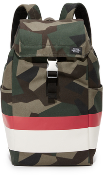 Jack Spade Striped M90 Camo Backpack
