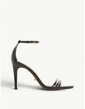 Dune Marabella patent strap stilettos