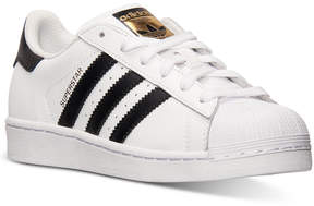 adidas Boys' Superstar Casual Sneakers from Finish Line