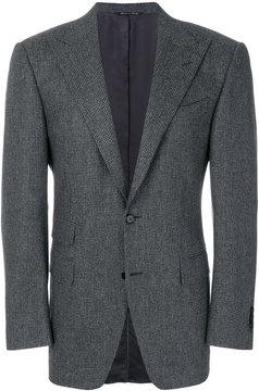 Canali micro houndstooth blazer