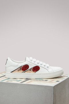 Marc Jacobs Empire Finger Low Top Sneakers