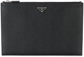Prada Large Leather Pouch