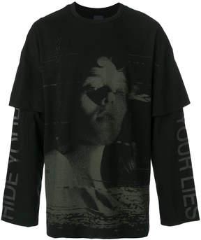 Juun.J layered sweatshirt