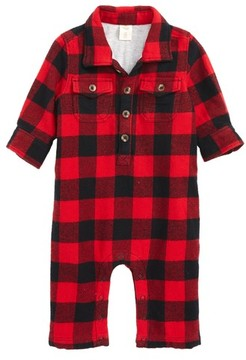 Tucker + Tate Infant Boy's Tucker & Tate Plaid Romper