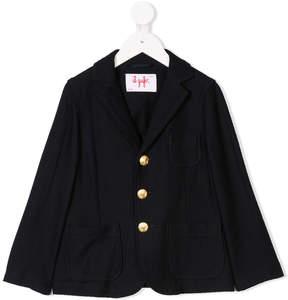 Il Gufo gold-tone button blazer
