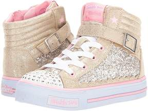 Skechers Shuffles - Glitter Girly 10923L Lights Girls Shoes