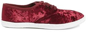 Forever 21 Crushed Velvet Sneakers