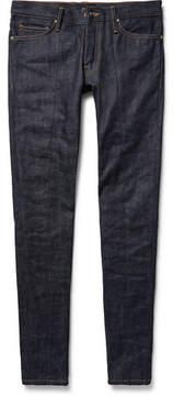Fear Of God Skinny-Fit Zip-Detailed Panelled Selvedge Denim Jeans