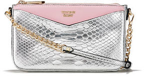 Victoria's Secret Victorias Secret Luxe Python Slim Downtown Crossbody