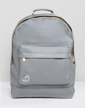Mi-Pac Rubberised Backpack in Gray