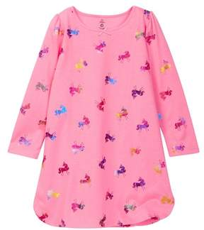 Petit Lem Knit Nightgown (Toddler & Little Girls)