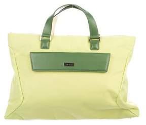Tumi Canvas Handle Bag