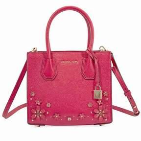 Michael Kors Mercer Medium Crossbody Bag- Deep Pink