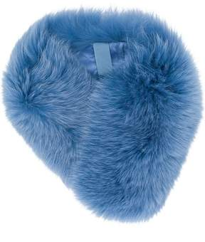 N.Peal fur band collar