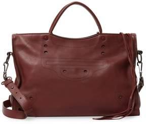 Balenciaga Women's Leather Satchel Tote