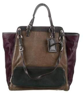 Dolce & Gabbana Miss Pocket Satchel - BURGUNDY - STYLE