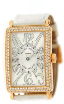 Franck Muller Long Island 1000 SC Diamond 18K Rose Gold Watch