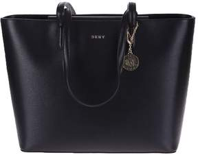 DKNY Black Chain Sutton Large Bag