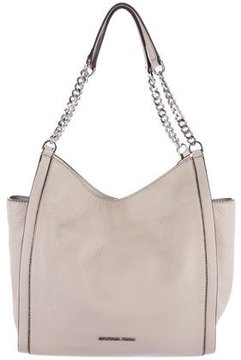 Michael Kors Grained Leather Tote - NEUTRALS - STYLE