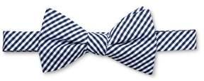 Merona Men's Gingham Bow Tie Navy