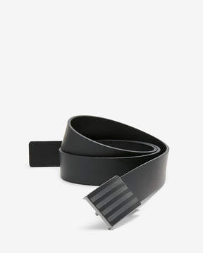 Express Reversible Striped Plaque Belt