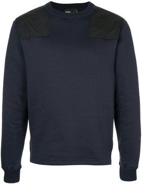 Kolor shoulder panel detail jumper