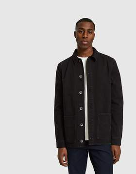 NATIVE YOUTH Woodbine Shirt Jacket in Black