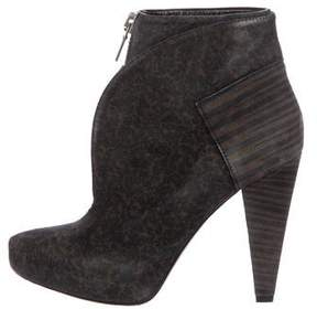 Proenza Schouler Pointed-Toe Platform Ankle Boots