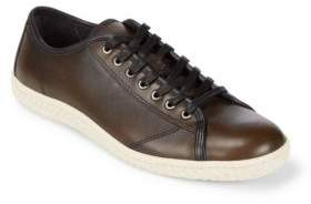 John Varvatos Star Hattan Leather Low-Top Shoes