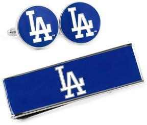 Ice LA Dodgers Cufflinks and Money Clip Gift Set